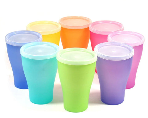 Reusable Plastic Cups With Lids
