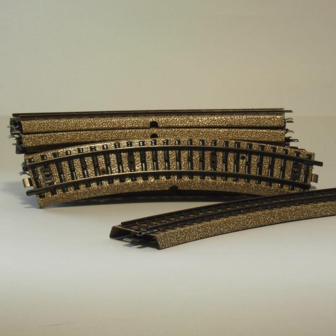 HO Scale Ballasted Track