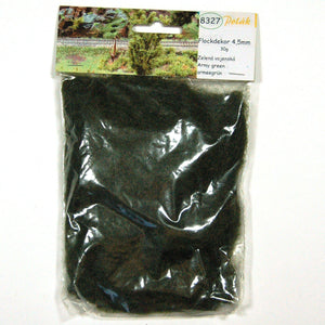 Static Grass Army Green - Poland's Best Home & Hobby