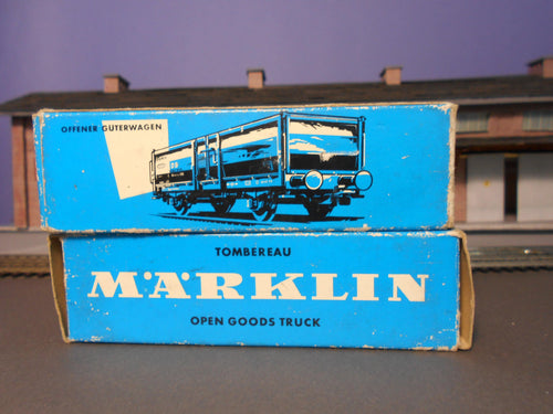HO Scale Freight Cars By Marklin - Collectibles