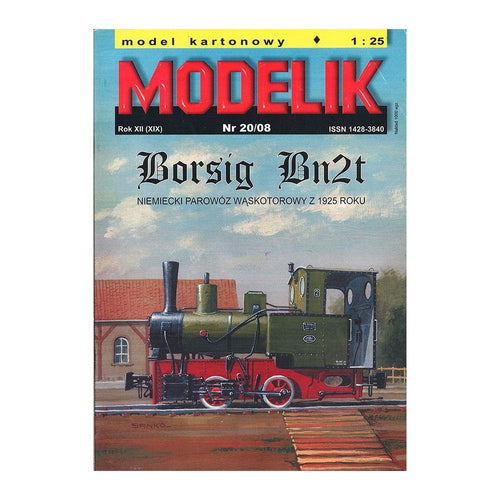 Steam Engine Model Borsig Bn2t
