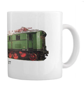 General Purpose Electric Locomotive E77 Coffee Mug