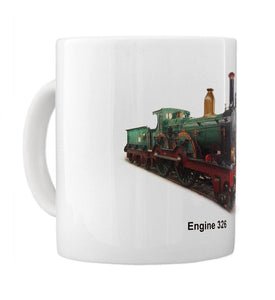 Old Time Steam Engine 326 Unique Coffee Mug