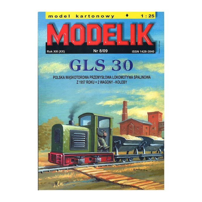Narrow Gauge Industrial Diesel Engine GLS30 - Poland's Best Home & Hobby