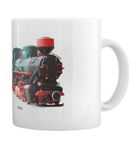 Record Holding Steam Engine Kp4 Railroad Coffee Mug