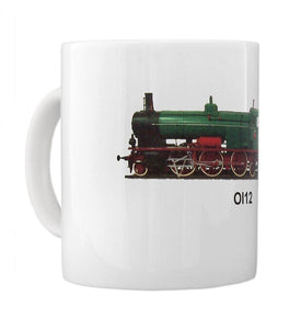 Historical Steam Locomotive Ol12 Coffee Mug