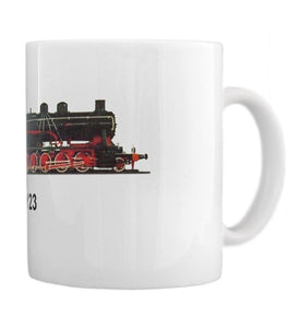 Heavy Coal Hauler TY23 Large Coffee Mug