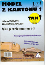 Load image into Gallery viewer, Armored WW2 Engine With Panzer Wagon Title: Opancerzony Wagon Silnikowy