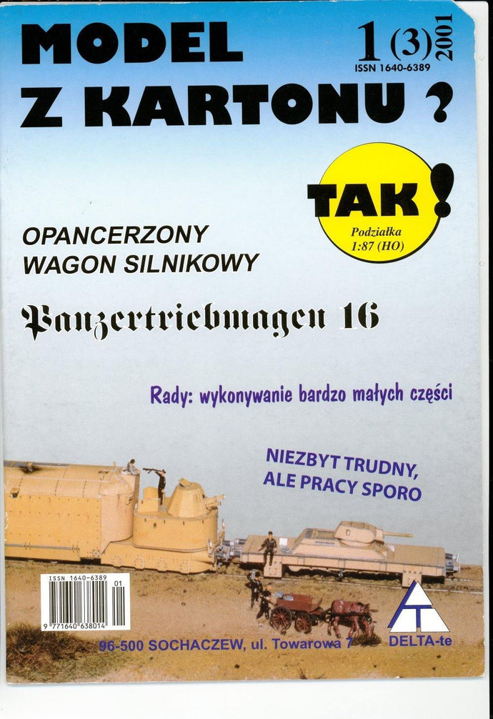 Armored WW2 Engine With Panzer Wagon Title: Opancerzony Wagon Silnikowy
