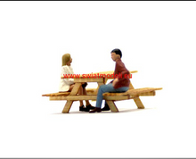 Load image into Gallery viewer, Laser Cut Picnic Table