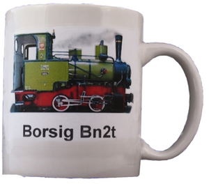 Famous Narrow Gauge Steam Engine BN2t On Large Mug