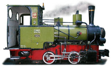 Load image into Gallery viewer, Famous Narrow Gauge Steam Engine BN2t On Large Mug