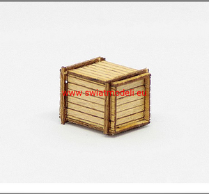Laser Cut Wooden Crate Load
