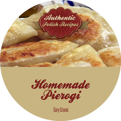Pierogi Cookbook On CD
