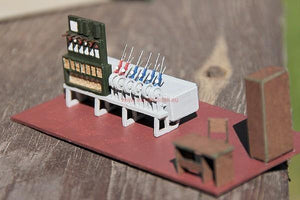 Control Tower Laser Cut HO Scale Model