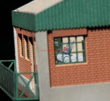 Load image into Gallery viewer, Control Tower Laser Cut HO Scale Model - Poland's Best Home & Hobby