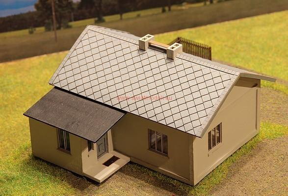 Country House Laser Cut HO Scale Model