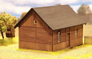 Farm House Laser Cut HO Scale Model