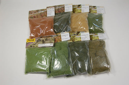 Static Grass Super Pack 8 Packages Colors Of Your Choice
