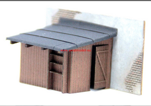 Laser Cut Henhouse With Entry Door On Right