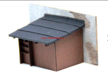 Load image into Gallery viewer, Laser Cut Henhouse With Entry Door On Left