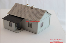 Load image into Gallery viewer, Laser Cut Country House With Asbestos Roof