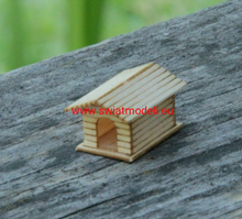 Load image into Gallery viewer, Laser Cut Wooden Dog House