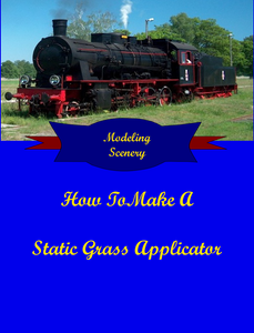 How To Make A Static Grass Applicator