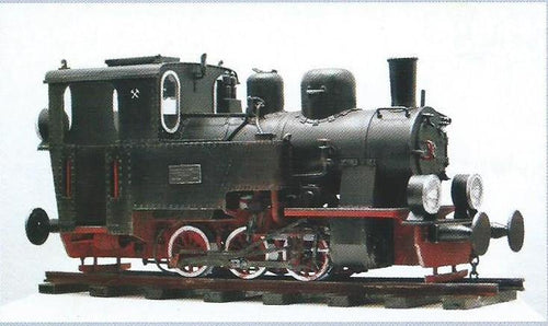 POLISH NARROW-GAUGE STEAM LOCOMOTIVE FROM 1948