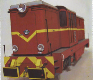 Narrow Gauge Diesel Engine Lxd2