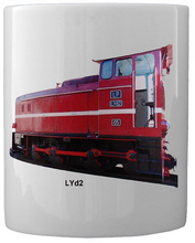 Load image into Gallery viewer, Narrow Gauge Diesel Engine Lyd2 Coffee Mug