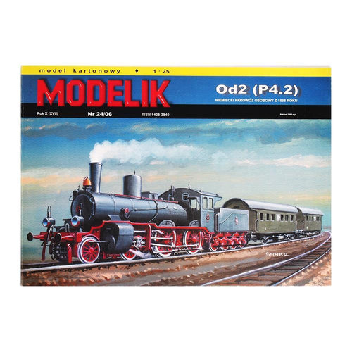German Steam Locomotive for Passenger Trains From 1898 Od2 - Poland's Best Home & Hobby