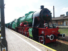 Load image into Gallery viewer, Weak Track Favorite Steam Locomotive OS24 Large Mug - Poland's Best Home & Hobby