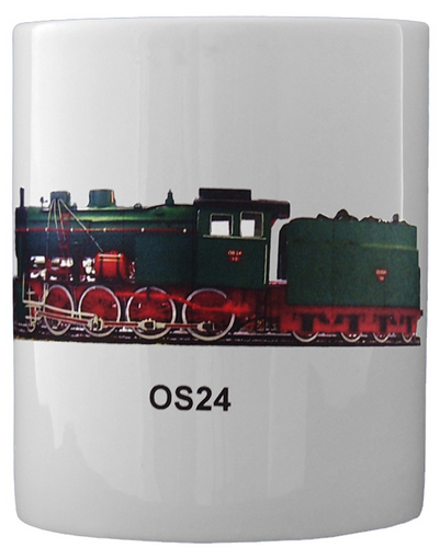 Weak Track Favorite Steam Locomotive OS24 Large Mug