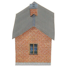 Load image into Gallery viewer, Tiny Brick House Carton Model Plan 20 - Poland's Best Home & Hobby