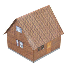 Load image into Gallery viewer, Small Country Cabin Carton Model Plan 24