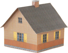 Load image into Gallery viewer, Wood Country House Carton Built Model Plan 5