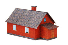 Load image into Gallery viewer, Brick Single Family House Carton Model Plan 8 - Poland's Best Home & Hobby