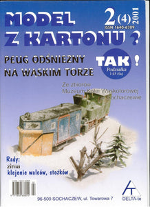 Narrow Gauge Steam Engine And Snow Plow For HO, OO and TT Scale Title: Plug Odsniezny Na Waskim Torze - Poland's Best Home & Hobby