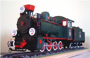 Polish Narrow-Gauge Steam Locomotive From 1929 Px29