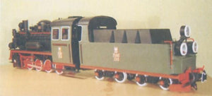 Narrow Gauge Steam Engine Model Px48