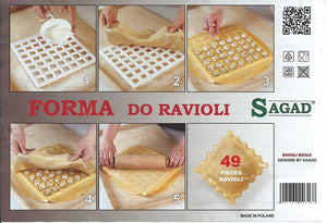 Ravioli Pierogi Maker Combo Plus 4 Books