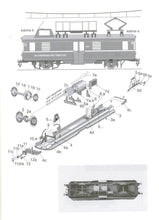 Load image into Gallery viewer, Railroad Traction Power Cable Repair Wagon Title: Delta SR51