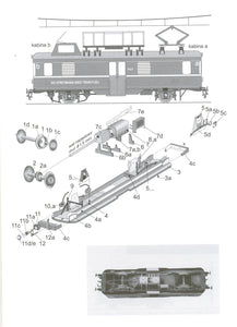 Railroad Traction Power Cable Repair Wagon Title: Delta SR51