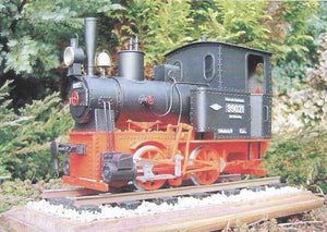 German Narrow-Gauge Steam Locomotive From 1904 Bn2t Freudenstein
