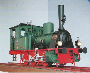 Prussian Steam Locomotive From 1882 T-3