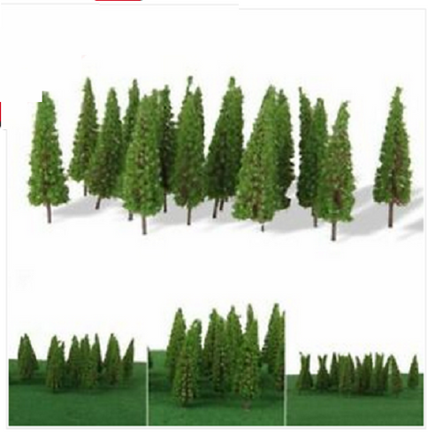 N Scale Spruce Trees Also For Architectural Models.