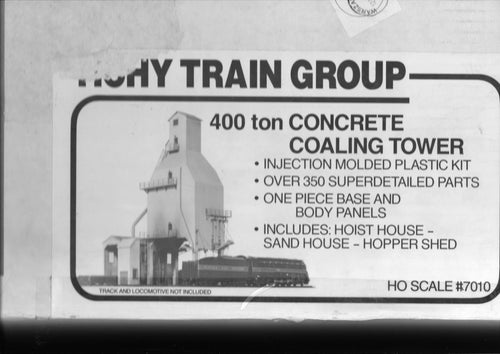 Tichy Train Group 400 ton Coaling Tower Kit 7010