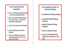 Load image into Gallery viewer, Ravioli King Toasted Ravioli Maker Plus Two Recipe e-Books