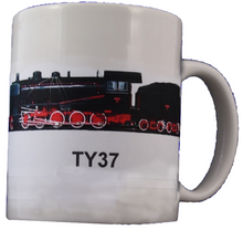 Load image into Gallery viewer, Improved Heavy Freight Steam Locomotive TY37 Coffee Mug - Poland's Best Home & Hobby